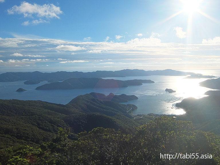 高知山展望台(鹿児島県奄美大島)/Kochi Mountain observatory(Kagoshima Amami Oshima)