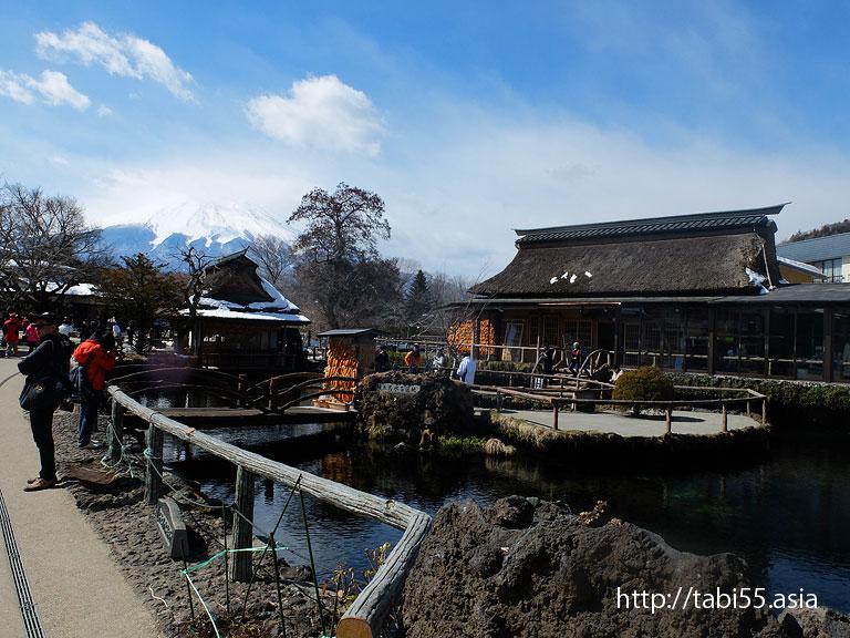 忍野八海(山梨県忍野村)