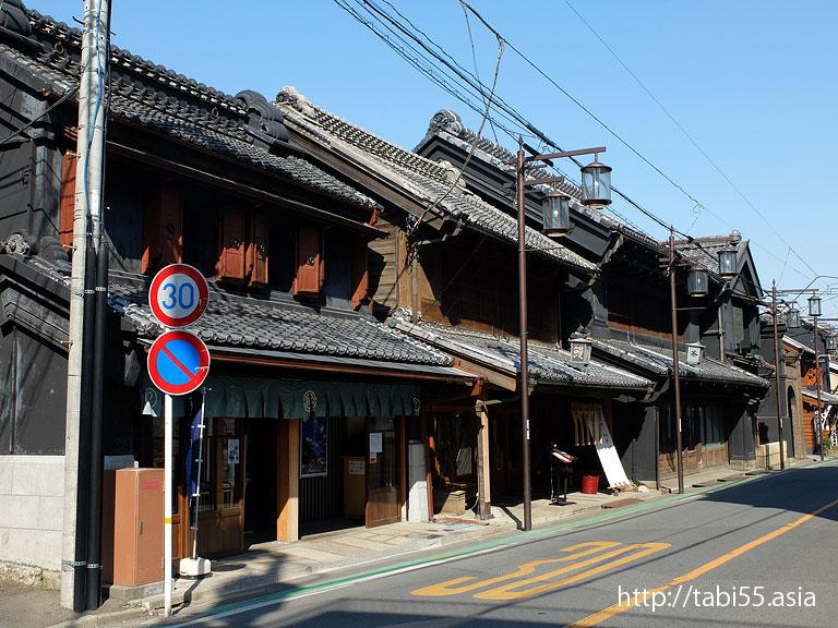 蔵づくりの町並み/Warehouse in Kawagoe(埼玉県川越市)