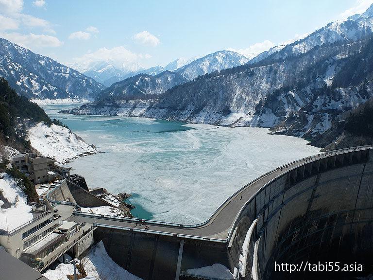 黒部ダム/Kurobe Dam(富山県立山黒部アルペンルート)