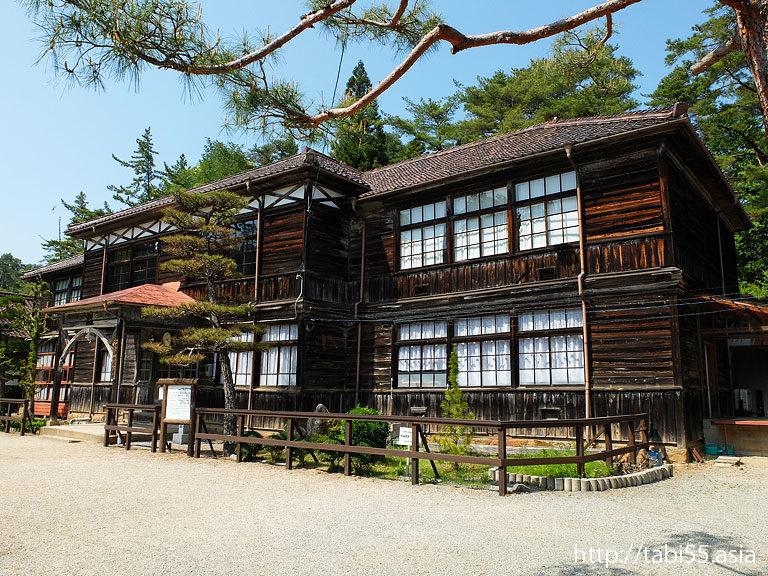 旧吹屋小学校(岡山県高梁市)