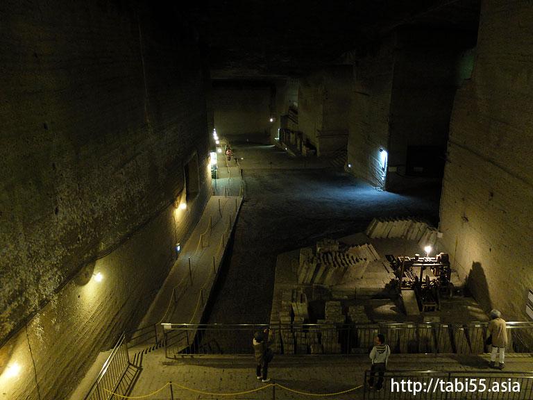 大谷資料館(地下採掘場跡)@栃木県宇都宮市