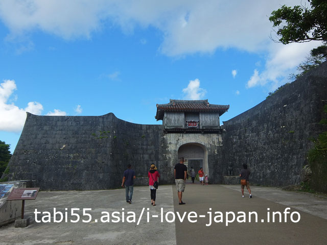 首里城第一の正門!歓会門(かんかいもん)