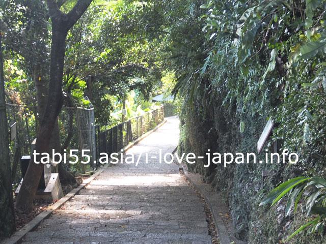 真珠道経由で、首里城公園から、徒歩で金城町石疊道を観光