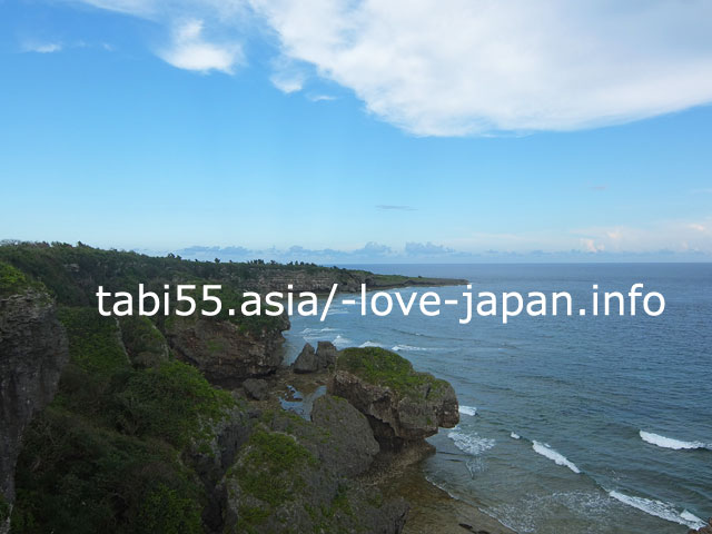 沖縄本島、ほぼ最南端!喜屋武(きゃん)岬