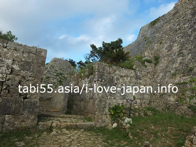 石積技術に目を見張る!中城城跡