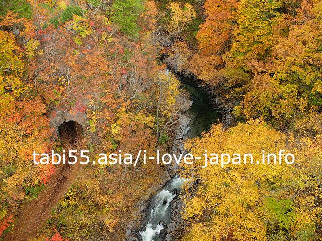 福島の紅葉名所と言えば!中津川渓谷探勝路を散策