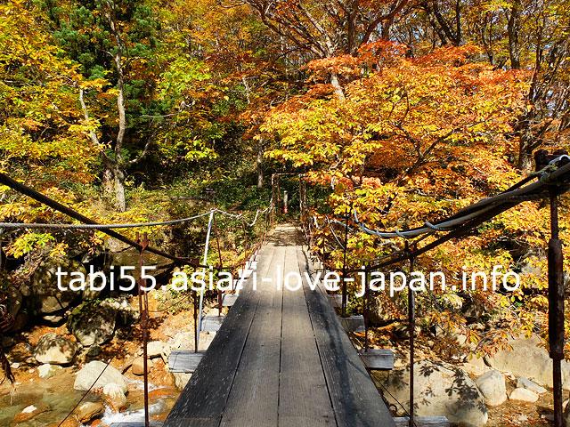 山形(米沢)の秘境!紅葉の滑川温泉を散策