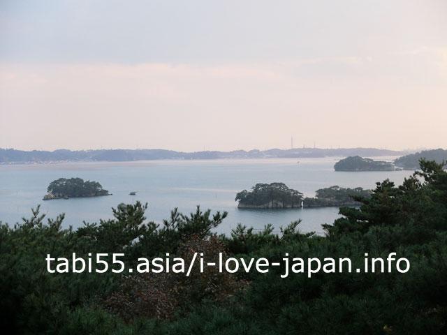 双観山で日本三景×松島を愛でる