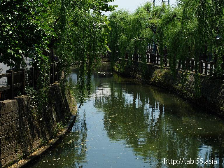 水郷佐原の町並み(千葉県香取市)