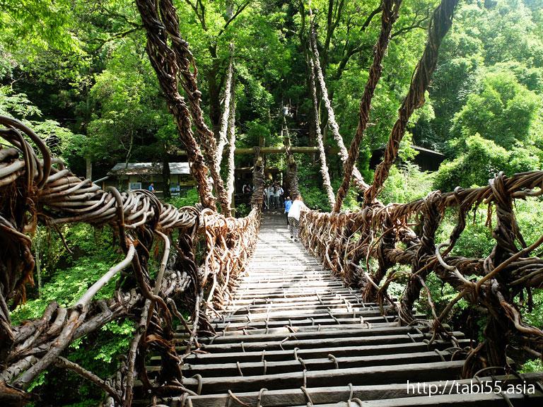 祖谷のかずら橋(徳島県三好市)