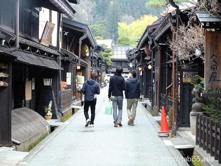 飛騨高山の古い町並み(岐阜県高山市)