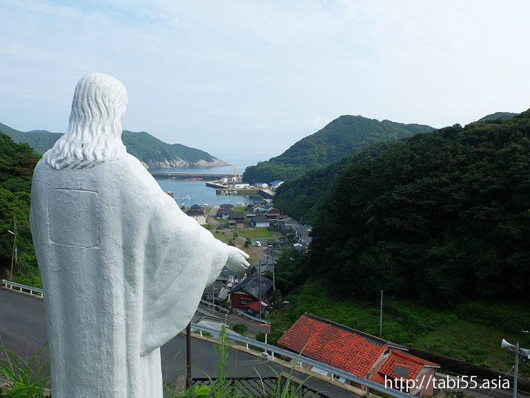 土井ノ浦教会(長崎県南松浦郡新上五島町/若松島)