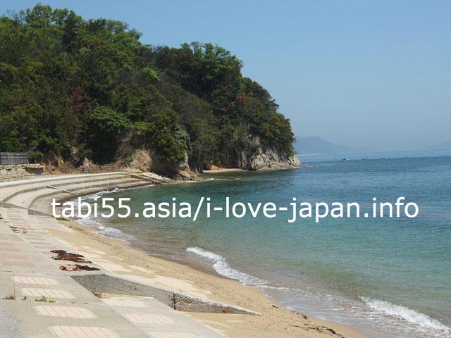 香川県随一の水質!鬼が島海水浴場
