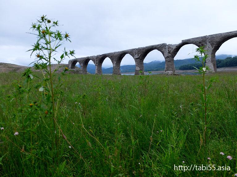タウシュベツ橋梁|2014夏