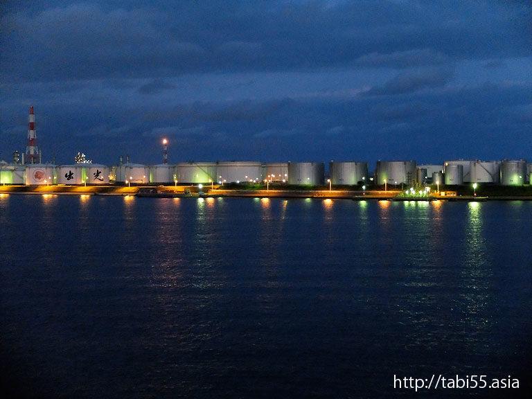 苫小牧港のタンク群/Tanks in Tomakomai port(北海道苫小牧市)