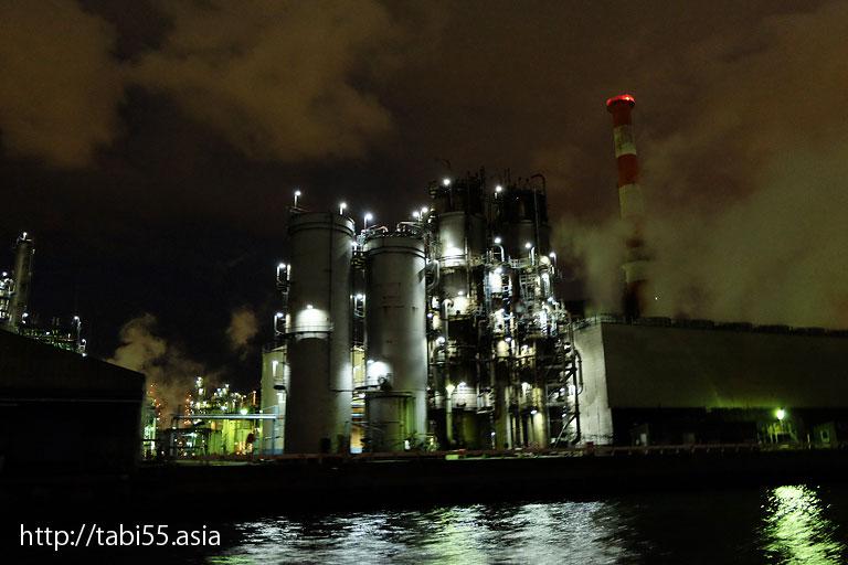 東亜石油|川崎工場夜景(神奈川県川崎市)