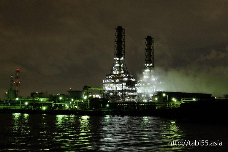 川崎天然ガス発電所|川崎工場夜景(神奈川県川崎市)
