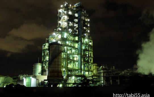川崎工場夜景(神奈川県川崎市)