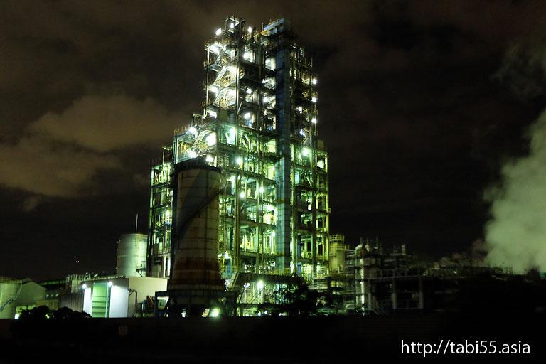 昭和電工|川崎工場夜景(神奈川県川崎市)