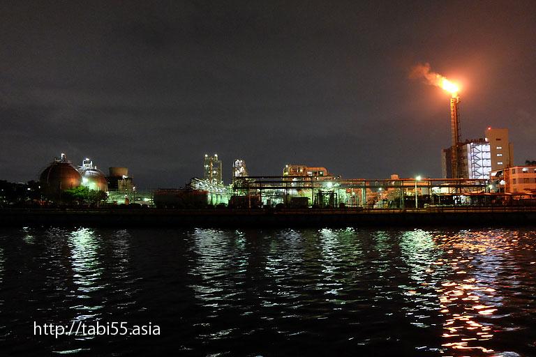 千鳥運河|川崎工場夜景(神奈川県川崎市)