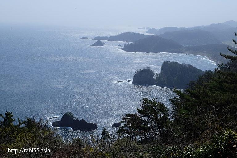 白島展望台(島根県)/Shirashima observatory (Shimane)