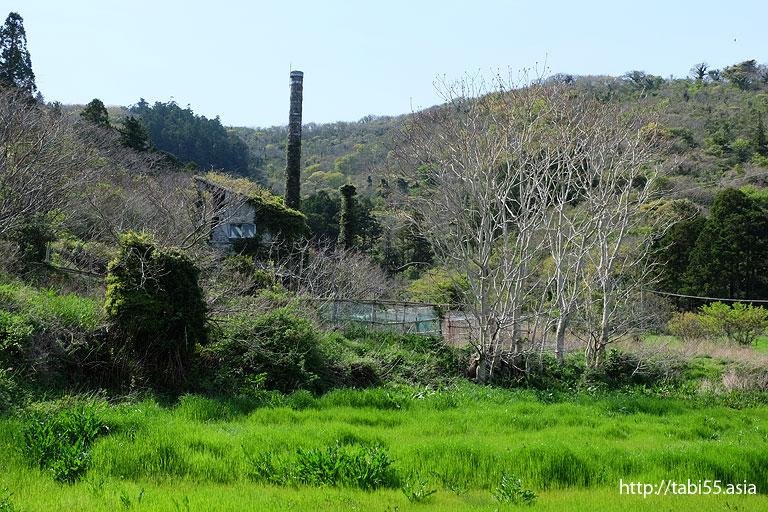 赤尾にはいる手前にあった煙@西ノ島町でみた風景/Nishinoshima town landscape
