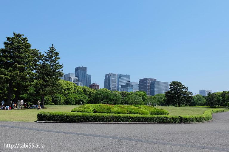 本丸@天守閣@皇居東御苑(東京都千代田区)/The East Gardens of the Imperial Palace (Chiyoda-ku, Tokyo)