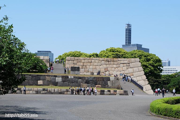 天守閣@皇居東御苑(東京都千代田区)/The East Gardens of the Imperial Palace (Chiyoda-ku, Tokyo)