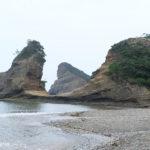 犬城海岸・馬立の岩屋(種子島)