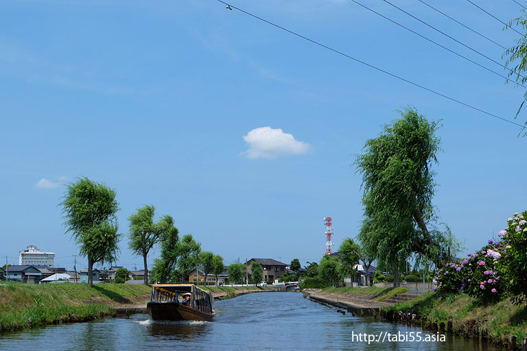 加藤洲十二橋(千葉県香取市)/Twelve bridge of Kato area