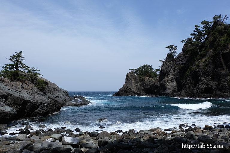 浄土ヶ浦海岸(島根県隠岐の島町)