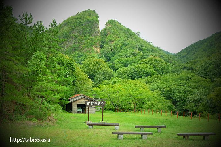 佐渡銀山のシンボル!道遊の割戸(新潟県佐渡島)