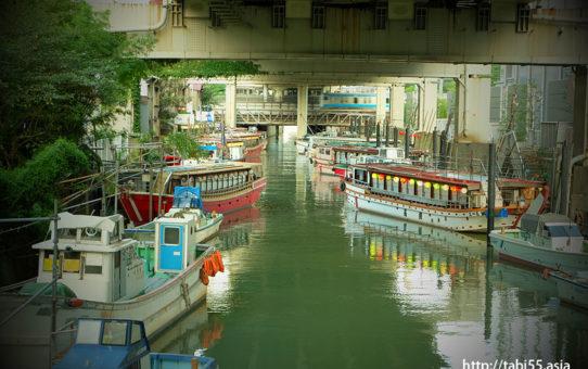 浜松町の屋台船(東京都港区)/Hamamatsu-cho stalls ship (Minato-ku, Tokyo)