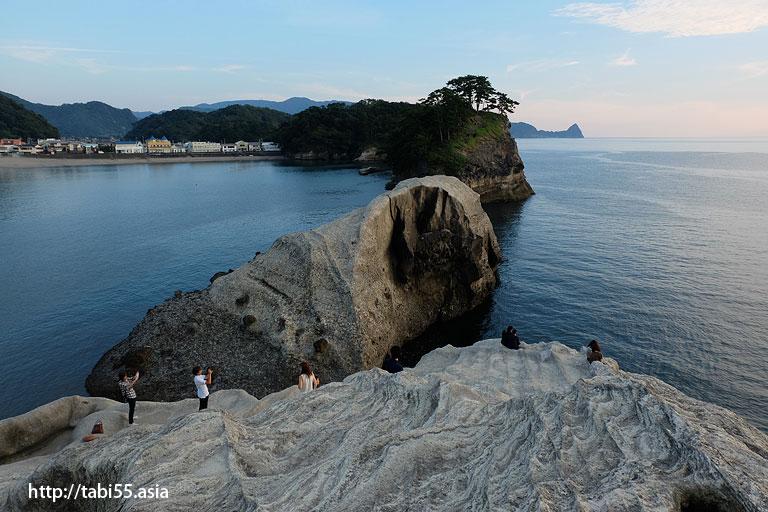 堂ヶ島の夕焼け(静岡県)/Douga Island sunset (Shizuoka)