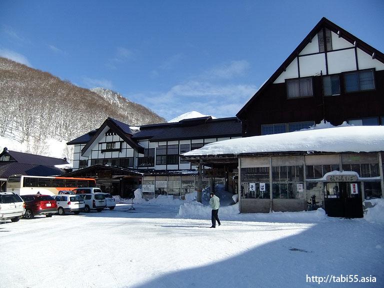 冬の酸ケ湯温泉(青森県)/Sukayu spa in winter(Aomori)