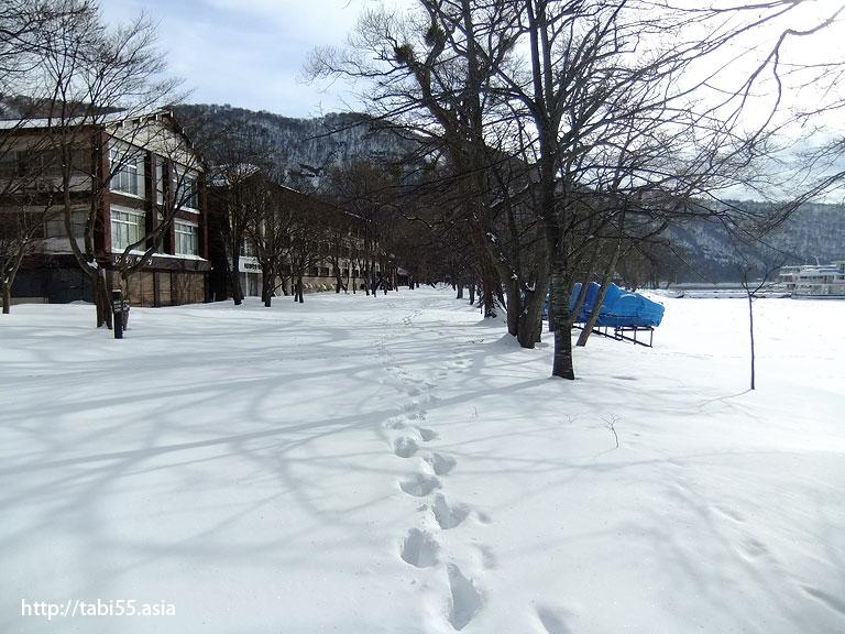 冬の十和田湖(青森県)/ Towada lake in witer (Aomori)