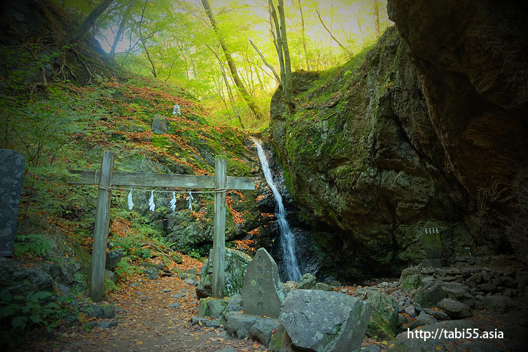 綾広の滝@御岳山ハイキング(東京都青梅市)/Mt.Mitake (Ome, Tokyo)