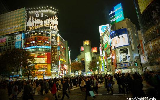 渋谷スクランブル交差点/Shibuya Crossing (東京都渋谷区/Shibuya-ku,Tokyo)