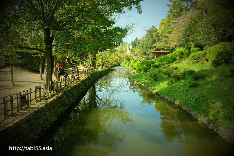 道後公園(湯築城跡)松山観光モデルコース