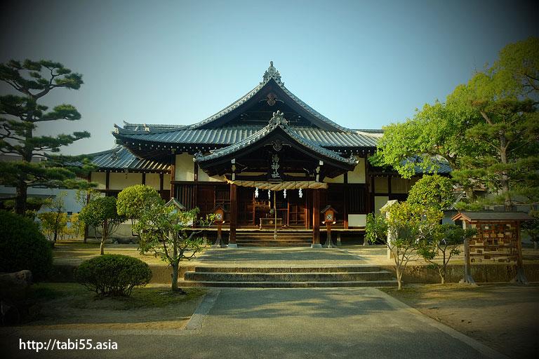 湯神社(松山観光おすすめコース)