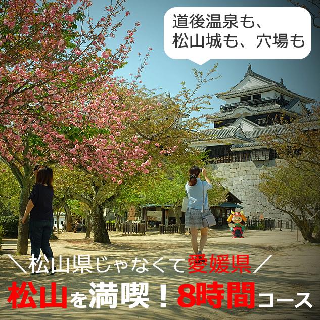 松山の観光のおすすめスポット【約8時間】日帰りモデルコース