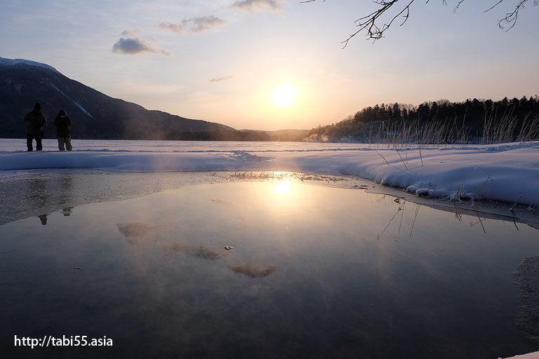 フロストフラワーツアー@冬の阿寒湖温泉(北海道)