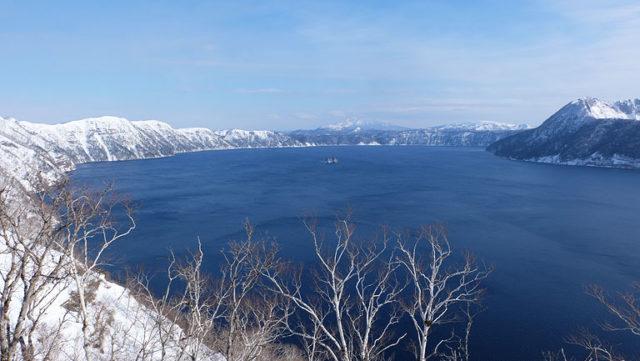 雪の摩周湖@冬の北海道おすすめコース