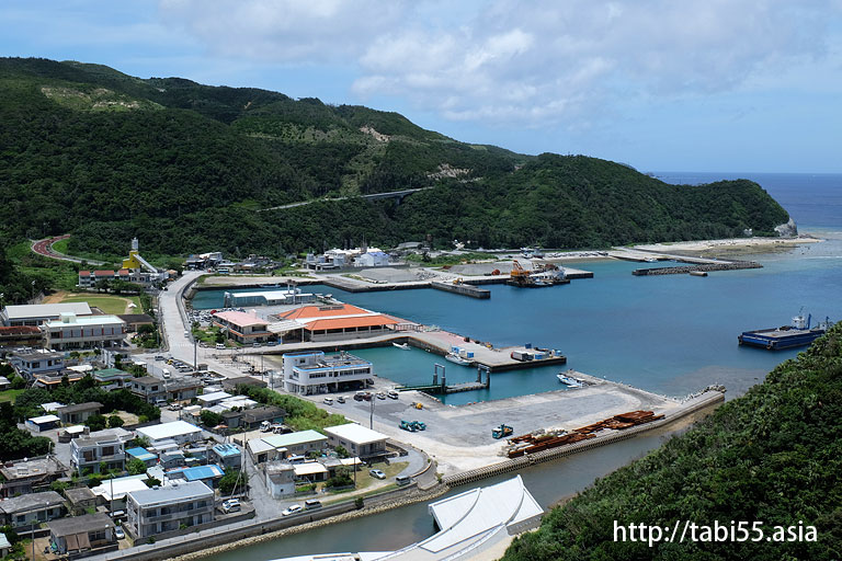 港の見える丘展望台@渡嘉敷島