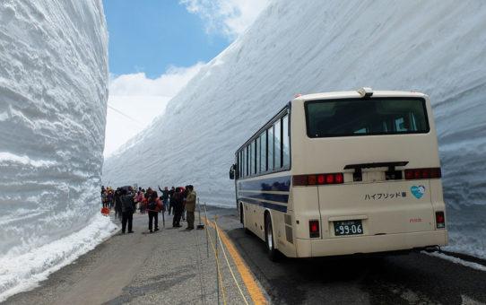 立山黒部アルペンルート【雪の大谷】の巻