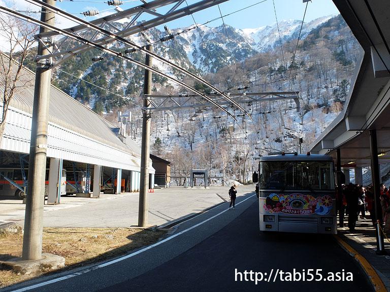 関電トローリーバス@立山黒部アルペンルート【雪の大谷】の巻
