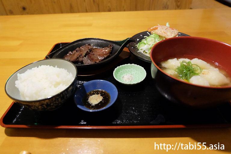 よろこびさんの定食@阿蘇の観光<地震後>おすすめコース【2016年8月】