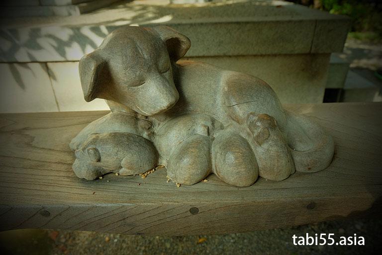 子守り犬|田無神社@東京都西東京市