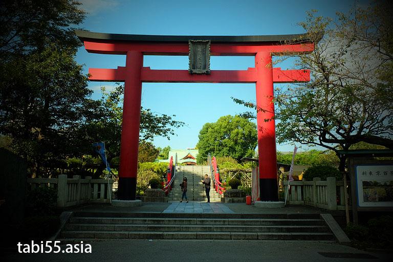 大鳥居@亀戸天神社(東京都江東区)